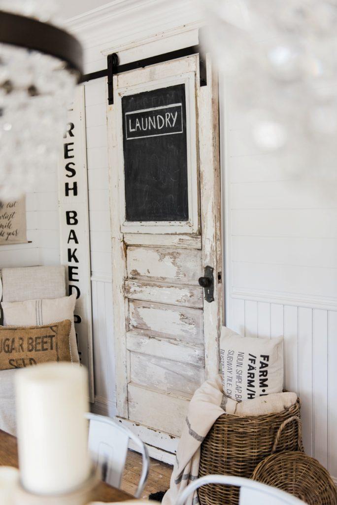Sliding Barn Door Laundry Room Door
