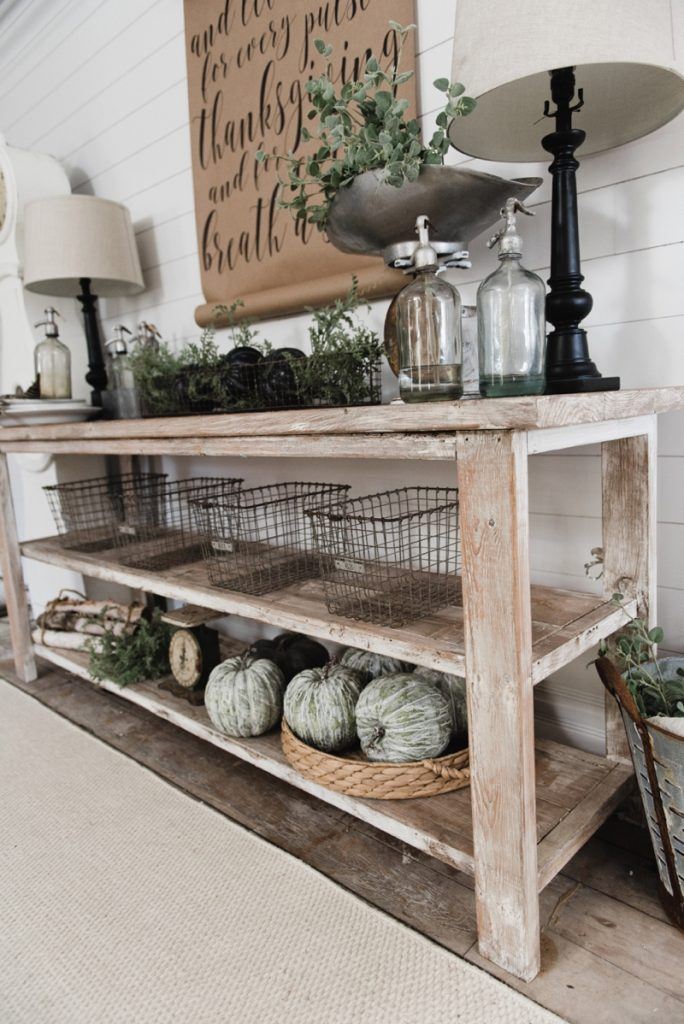 DIY Farmhouse Style Buffet