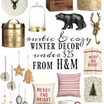 Rustic Holiday Decor from H&M All under $25