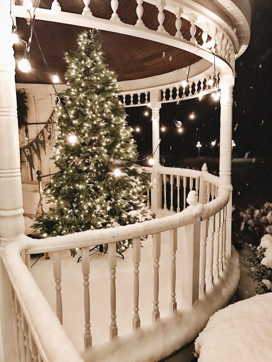 White Cottage Farm Christmas Night Tour Liz Marie Blog