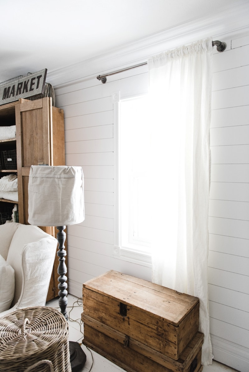 Affordable Industrial Farmhouse Pipe Curtain Rods