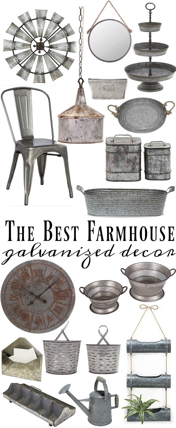 Where to find the best galvanized home decor liz marie blog for Find home decor