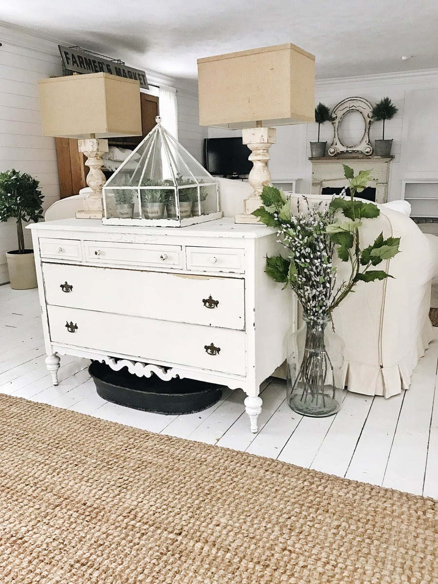 12 perfect farmhouse style lamps for Tapis shabby chic
