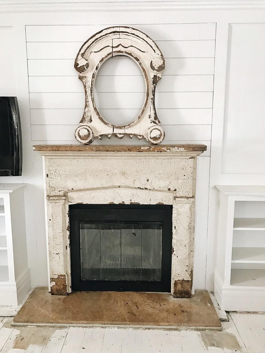 Front Living Room Fireplace Progress Tile Liz Marie Blog