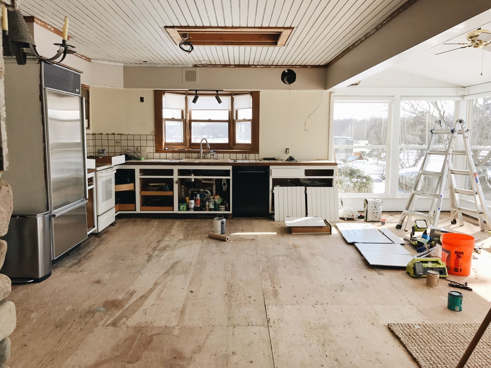 Kitchen Bulkhead Kitchen Reno Update Bye Bye Bulkhead