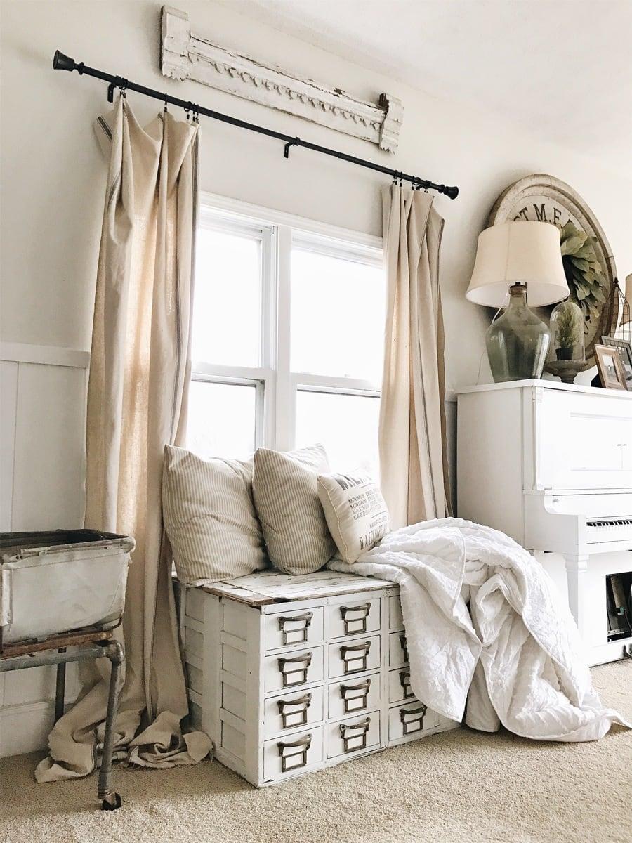 Back Living Room – The Beginning