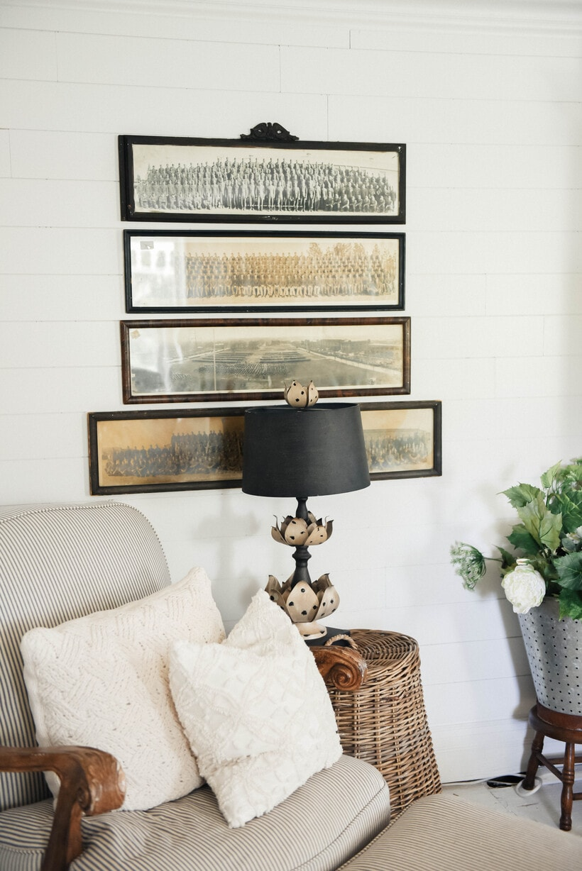 Vintage Panoramic Photo Gallery Wall – The Beginning