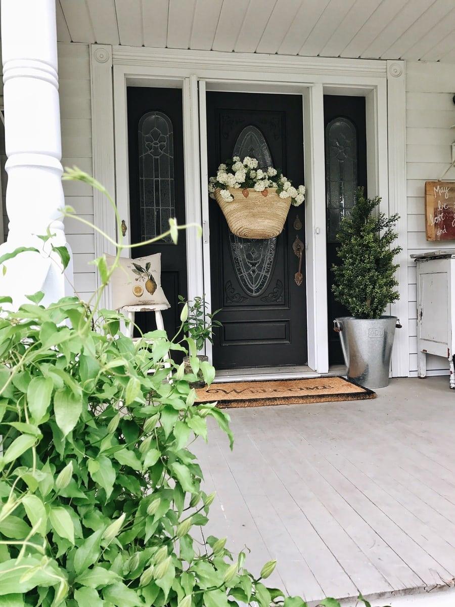DIY Market Bag Wreath