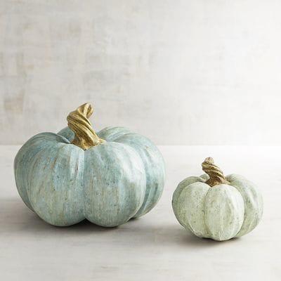 10+ Faux Farmhouse Pumpkins