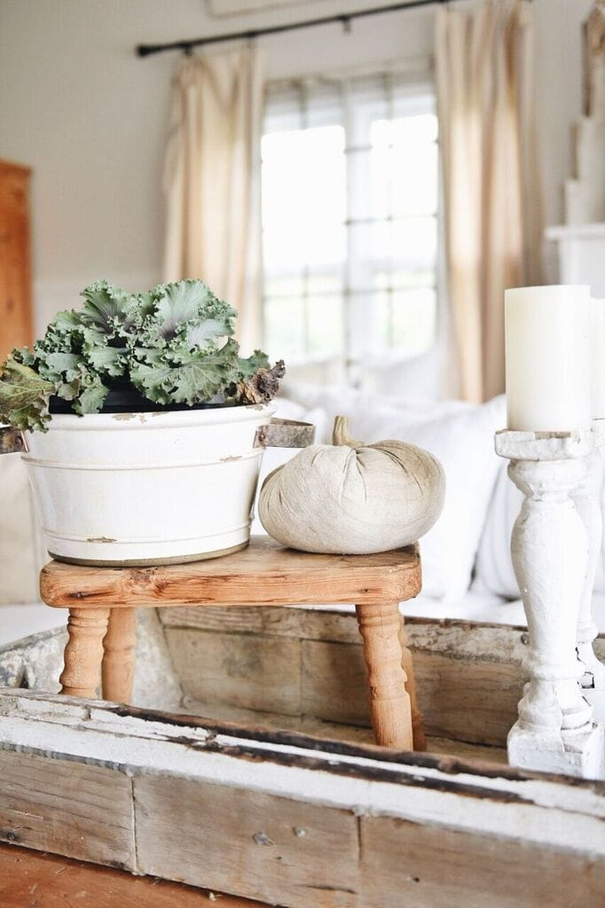 Fall Farmhouse Fabric Pumpkins