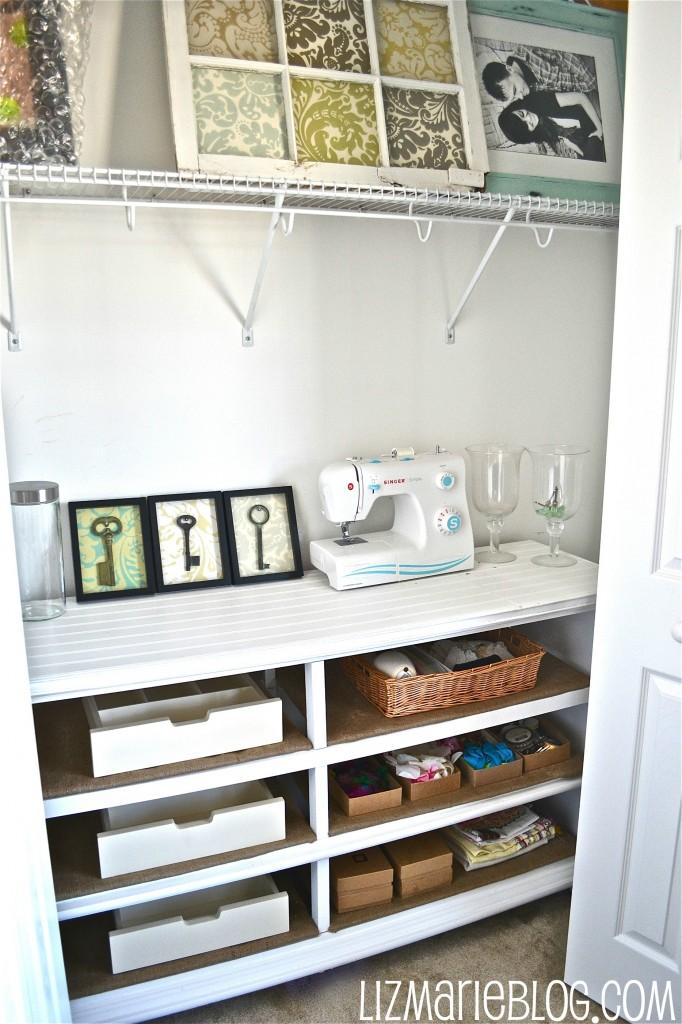 , Dresser to Shelves