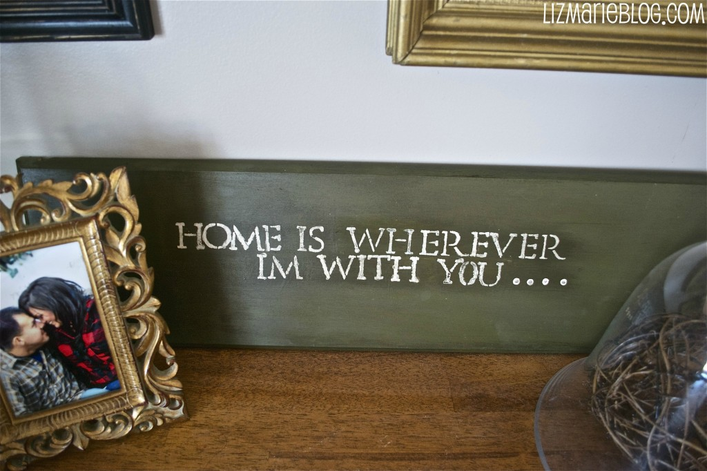 , My First Stenciled Sign