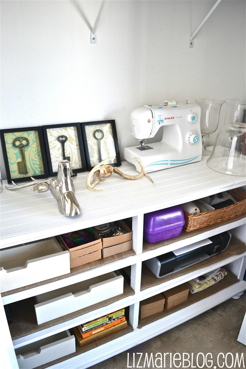 Dresser to Shelves