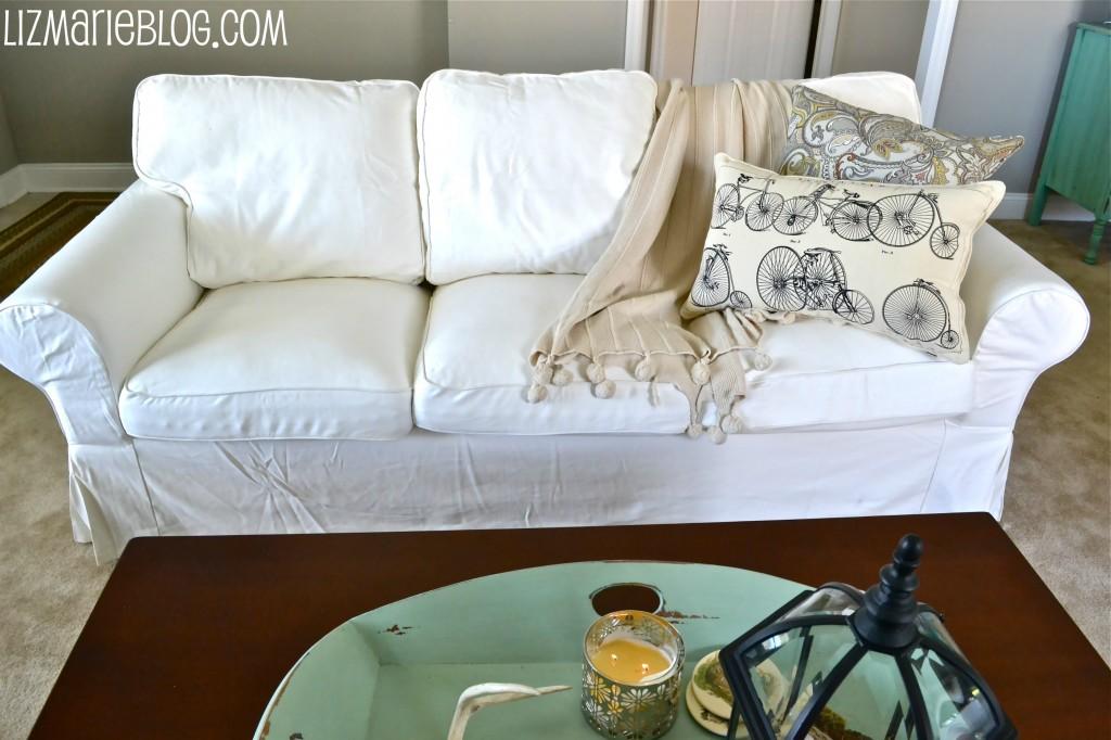 , New White Slipcover Ikea Couches