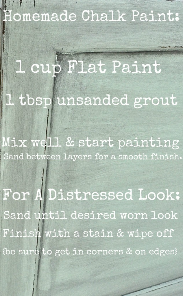 Homemade chalk paint vs. ASCP, Homemade Chalk Paint vs. ASCP