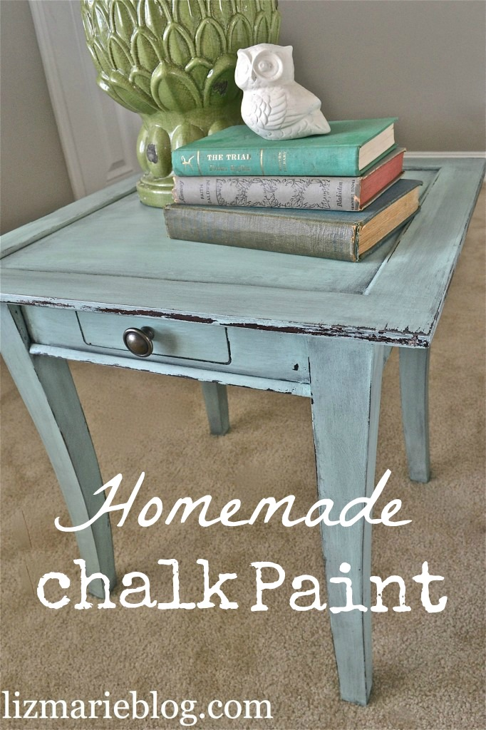Homemade Chalk Paint vs. ASCP