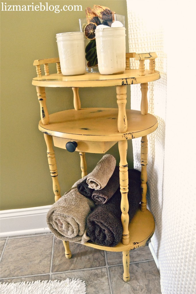 , Antique Bathroom Stand