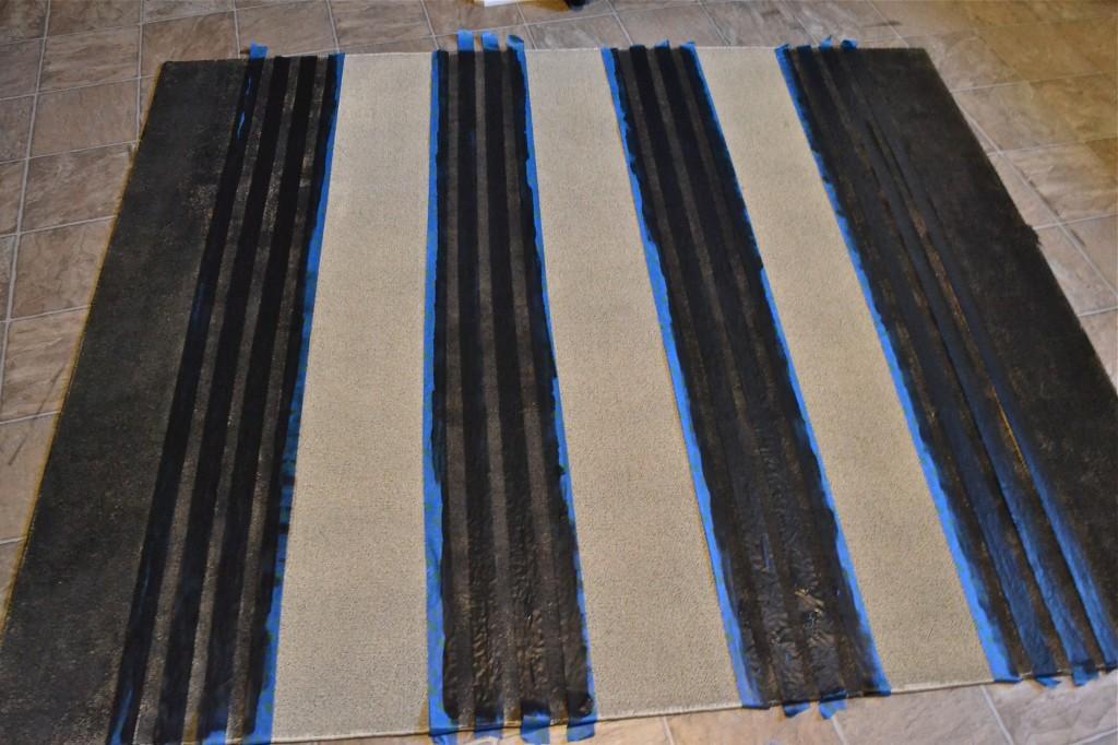, DIY Striped Rug