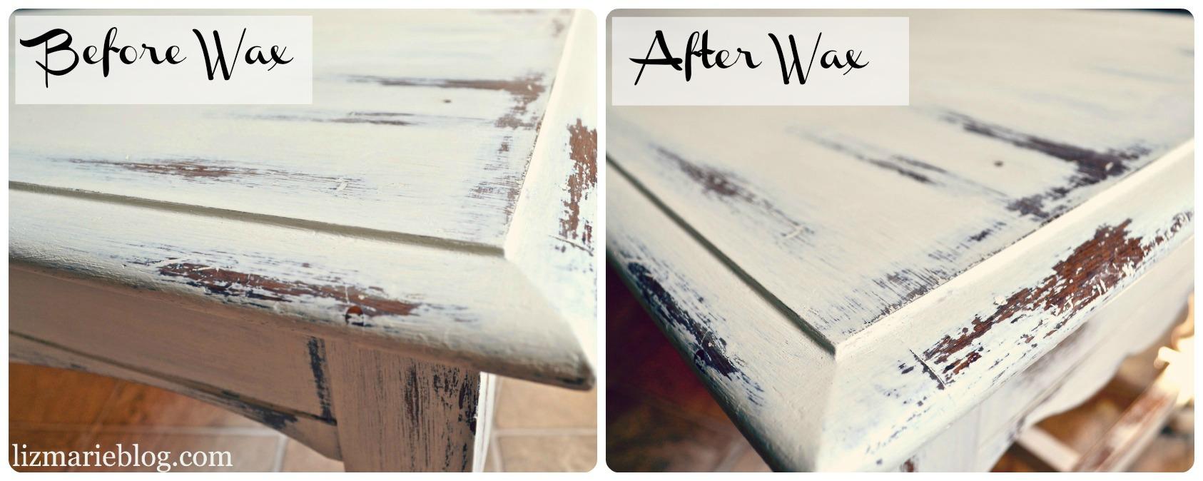 How To Wax Furniture - Liz Marie Blog