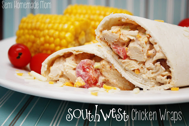 Southwest Chicken Wraps 1