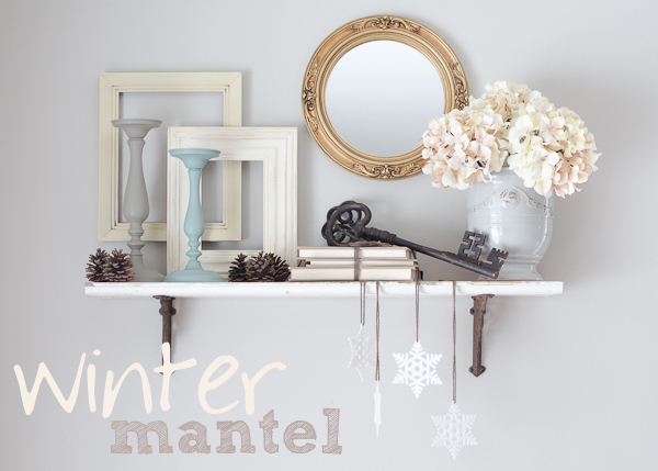 winter mantel graphic