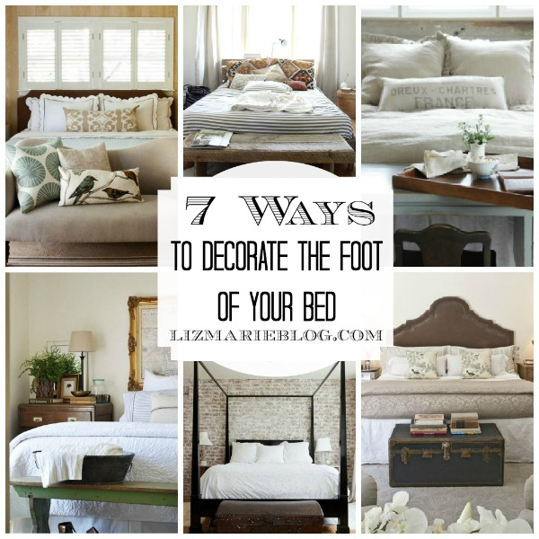 , Decorating The Foot Of The Bed