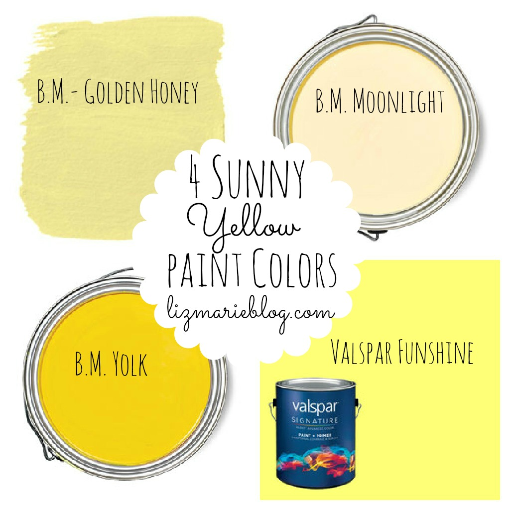 yellow paint colors best yellow paint colors liz 30792
