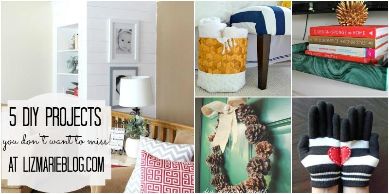 ", 5 DIY Projects- ""Make It"" Features"