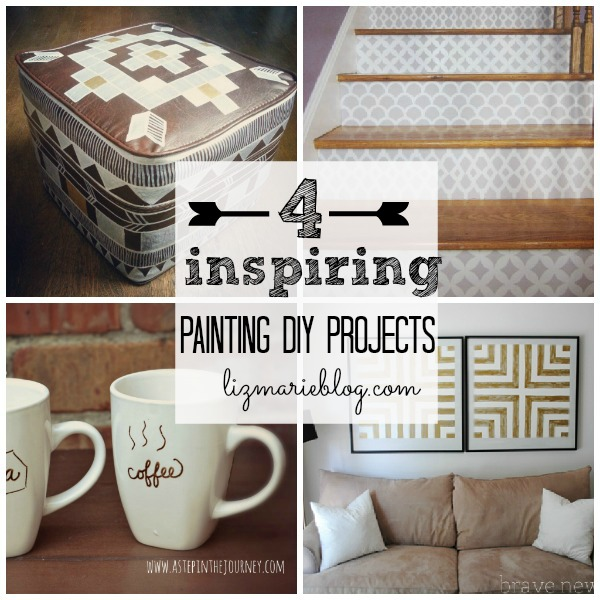 , 4 Inspiring Painting DIY Projects