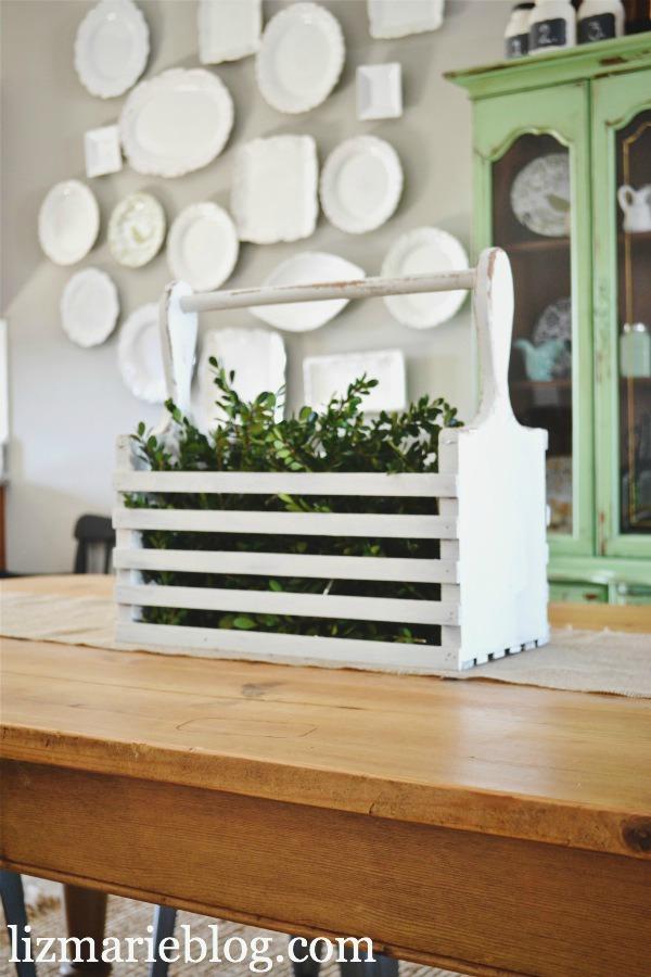 , Boxwood & A Wood Box