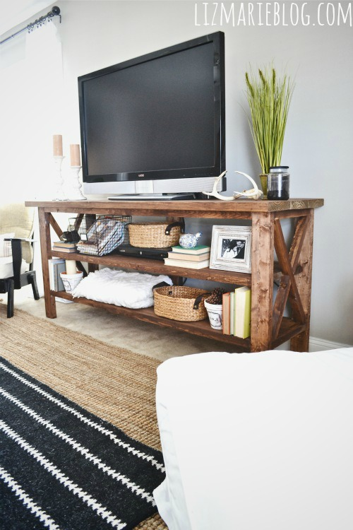 How to build a Rustic TV Stand
