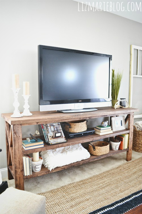 Affordable TV Stand DIY