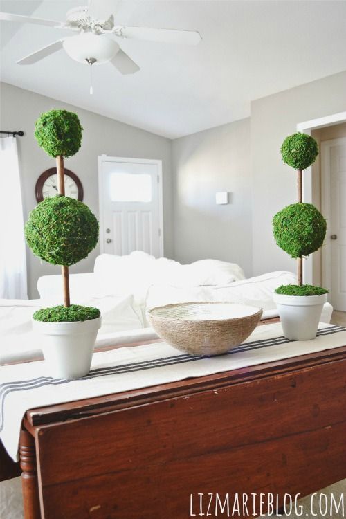 diy moss topiaries, DIY Moss Topiaries