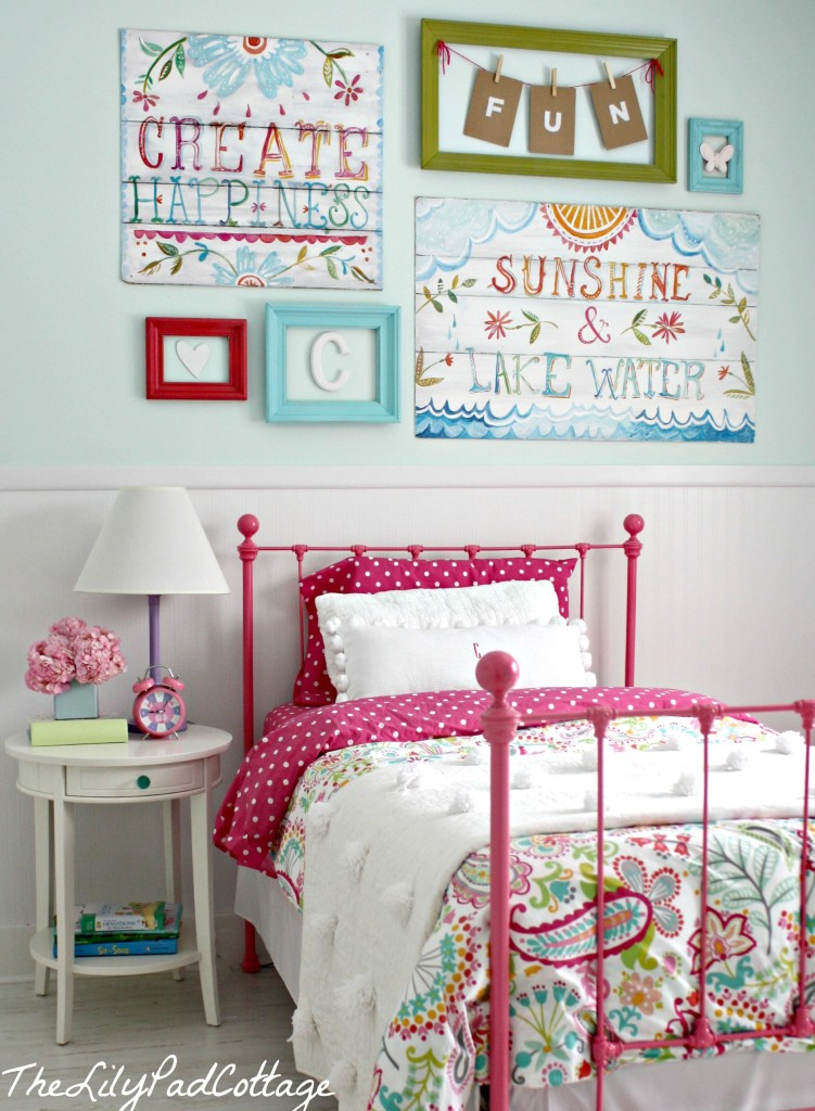 big girl bedroom