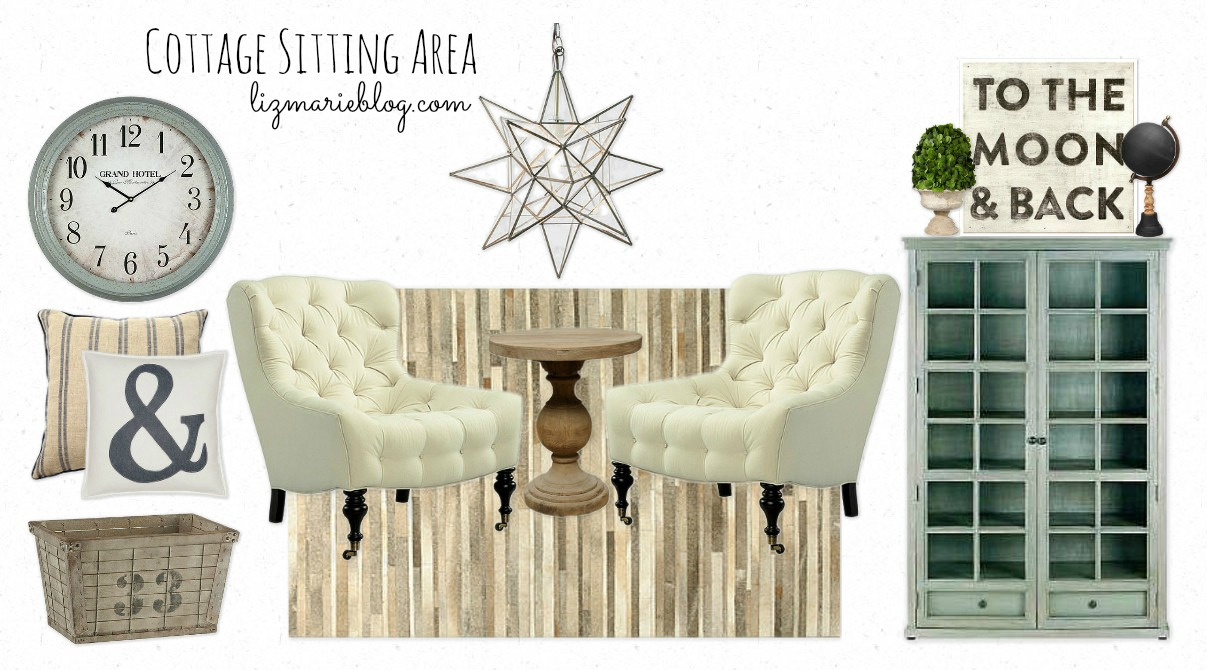 Inspiration Board – Cottage Sitting Area
