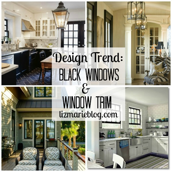 Black Window Trim