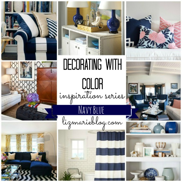 decorating with color series navy