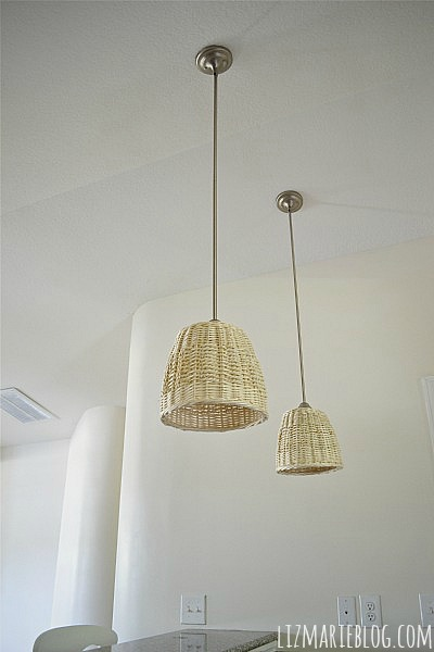 DIY basket pendants, DIY Basket Pendants