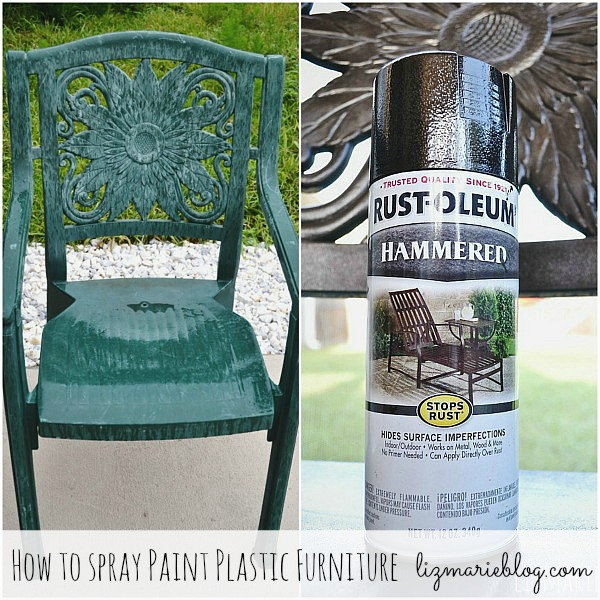 How to paint plastic furniture, How To Paint Plastic Furniture & A Makeover
