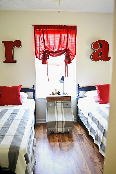 , Habitat For Humanity House- Boy Room Reveal