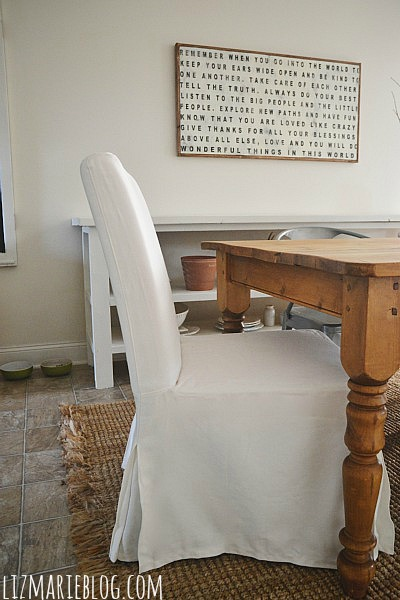 , New Dining Room Table Chairs & Updates