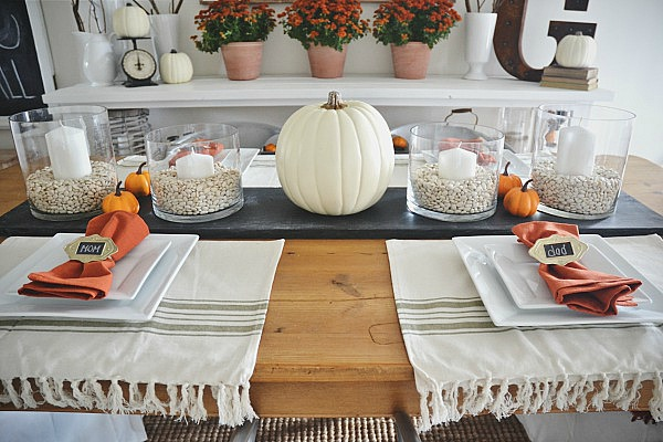 , Fall Dining Room Reveal