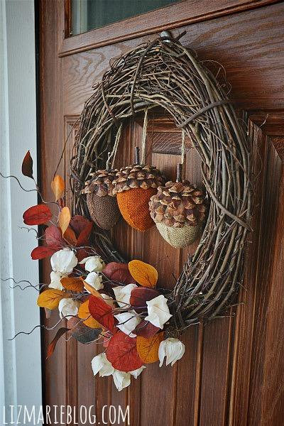 , Fall Front Porch