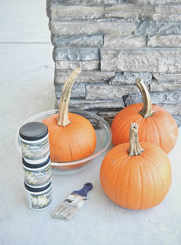 DIY ombre paint dipped pumpkins, DIY Ombre Paint Dipped Pumpkins