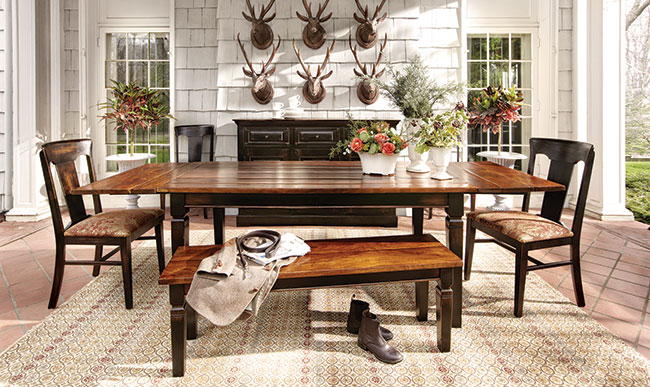 Medium image of toulon extension dining table
