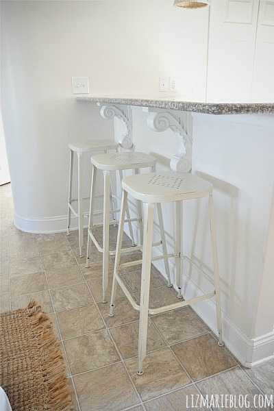 New Kitchen Barstools – Pier 1 Weldon Barstools