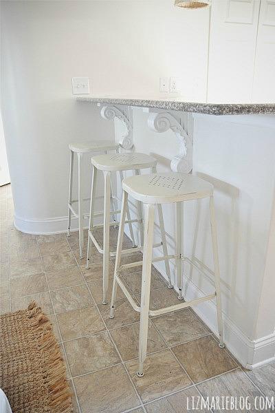 New Kitchen Barstools – Pier 1 Weldon Barstools