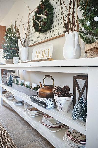 Christmas Dining Room- Sneak Peek