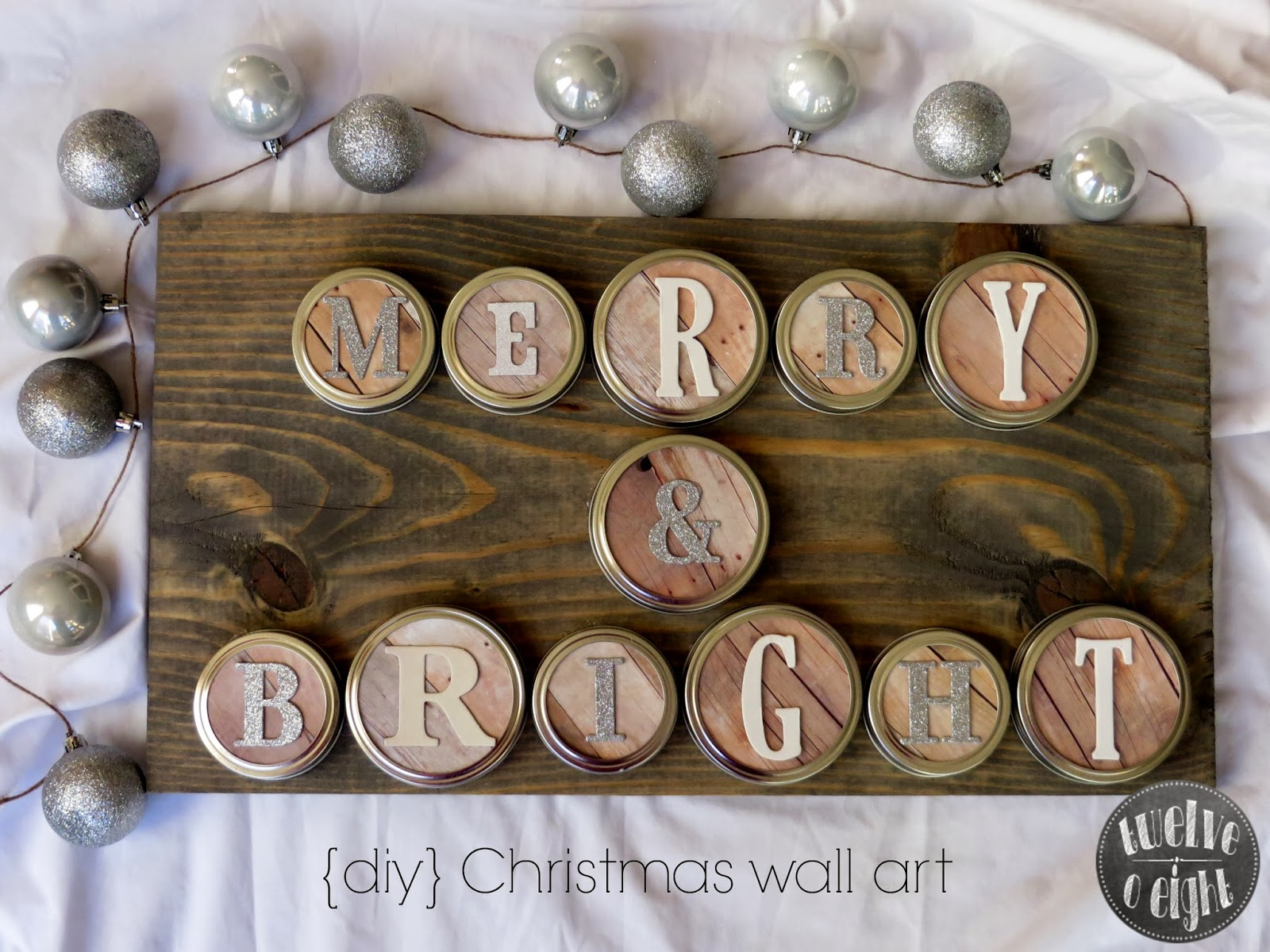 diy christmas wall art main