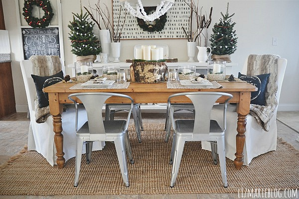 Christmas dining room, Christmas Dining Room Reveal